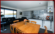 Dining Area - Houseboat Hire, Riverland Houseboats, River Murray Houseboasts, Riverland Houseboats Loxton, Kiwi-Oz